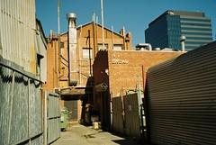 (homesickATLien) Tags: 35mm film art kodak expired mjuiii olympus analog melbourne victoria australia suburbia inner infrastrcuture architecture building grandeur growth street bakery light urban urbanisation