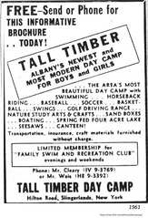 1961  tall timber day camp country  club   slingerlands (albany group archive) Tags: 1960s new scotland old albany ny vintage photos picture photo photograph history historic historical