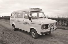 Ford Transit 1980 (georgeartp) Tags: minibus fordtransit padgate