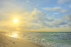 Pensacola Beach Footprints at Sunrise (J.L. Ramsaur Photography) Tags: jlrphotography nikond7200 nikon d7200 photography photo 2018 engineerswithcameras photographyforgod thesouth southernphotography screamofthephotographer ibeauty jlramsaurphotography photograph pic tennesseephotographer pensacolabeachfl florida escambiacountyflorida emeraldcoast beach ocean gulfofmexico sand waves pensacolabeach floridapanhandle worldswhitestbeaches cradleofnavalaviation gulfislandsnationalseashore westerngatetothesunshinestate americasfirstsettlement pensacolabeachflorida pcola redsnappercapitaloftheworld cityoffiveflags pcolabeach landscape southernlandscape nature outdoors god'sartwork nature'spaintbrush god'screation wherethemapturnsblue ilovethebeach bluewater blueoceanwater sea sunrise sun sunglow yellow bluesky deepbluesky beautifulsky whiteclouds clouds sky skyabove allskyandclouds hdr worldhdr hdraddicted bracketed photomatix hdrphotomatix hdrvillage hdrworlds hdrimaging hdrrighthererightnow