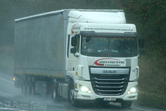 DAF XF Continental Transport (SR Photos Torksey) Tags: transport truck haulage hgv lorry lgv logistics road commercial vehicle freight traffic daf xf