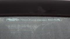 M636 BPW (3) (Nivek.Old.Gold) Tags: 1995 ford escort 18 16v si cabriolet busseys norwich eama