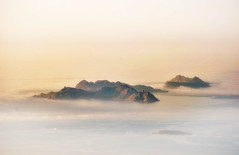 Winter. (The North West Of Nowhere) Tags: tensk altodagroba cíes pontevedra illas islas isles archipélago costa atlántico nubes