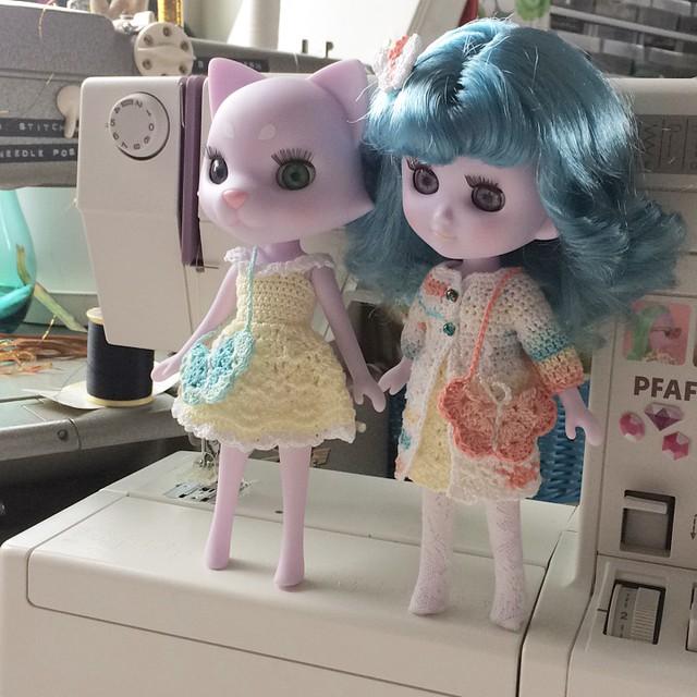 Odeco and Nikki wearing PicotPika!