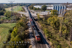 CN 3011 | GE ET44AC | CN Shelby Subdivision (M.J. Scanlon) Tags: business cn2921 cn3011 cnshelbysubdivision capture cargo commerce dji digital drone es44ac et44ac engine freight ge haul horsepower image impression landscape locomotive logistics mjscanlon mjscanlonphotography mavik2 mavik2zoom memphis merchandise mojo move mover moving outdoor outdoors perspective photo photograph photographer photography picture quadcopter rail railfan railfanning railroad railroader railway scanlon steelwheels super tankcar tennessee track train trains transport transportation view wow ©mjscanlon ©mjscanlonphotography unitedstates us