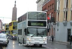 Dublin Bus AV279 (02D20279). (Fred Dean Jnr) Tags: april2005 dublin dublinbus busathacliath volvo b7tl alexander alx400 dublinbusroute10 av279 02d20279 parnellstreetdublin pboro weddingbus