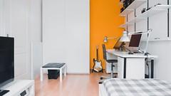 Simple but elegant room design (Pasesi Interiors) Tags: interiordesign interior design pasesi pasesiinteriors nairobi kenya bedroom simple simplicity beautiful guitar mac elegant