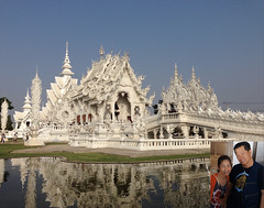 White Wat, Why Not? (Khao Soi Boy) Tags: วัดร่องขุ่น whitetemple whitewat thailand structure building artwork chiangrai exhibit buddhism reflection inset watrongkhun