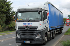 Toogood, Pucklechurch  YT17 JJK Ashchurch (majorcatransport) Tags: gloucestershirehaulage toogoodpucklechurch ashchurch mercedesbenz mercedesactros