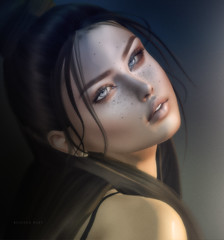 Let me catch my breath... (beloved.ruby) Tags: glamaffair glamaffairskins glamaffairskinappliers glamaffairskinappliersforcatwa catwa catwameshhead collabor88 tableauvivant tableauvivanthair secondlife sl secondlifeevents events slevents
