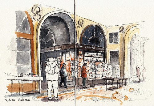 Galerie Vivienne. Paris 2ème