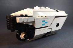 Gridrunner rear (Octopunk) Tags: gridwars starwars tron lego sandcrawler lightcycle