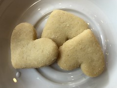 Favourite biscuits (prondis_in_kenya) Tags: kenya nairobi colddryseason javahouse cafe restaurant heart biscuit