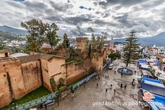 Kasbah of Chefchaouen (Gerd Kohlmus) Tags: kasbah chefchaouen fortress castle morocco blue city chaouen medina