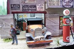 Mississippi Landing, Warley Show 2016 (simage61) Tags: transportation railway modelrailway modelrailwayexhibition warley 2016 modelrailwaylayout 7mmscale h0n30 mississippilanding modelrailroad narrowgauge 148 14scale