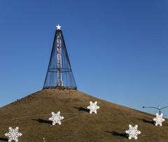 On the Hill (noname_clark) Tags: chapungu outdoors hill snowflake decoration