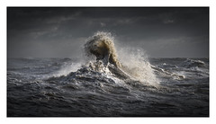 Newhaven Harbour - December 9th (Edd Allen) Tags: newhaven harbour newhavenharbour sea seaside coast coastal waves storm rain clouds moody atmosphere atmopsheric ethereal serene bucolic nikond810 nikkor70200mm england uk southcoast southeast eastsussex landscape seascape abstract
