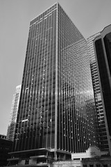 Simple,  Clean, And Beautiful-Chicago 2019 (James J. Novotny) Tags: reflection reflecting chicagoarchitecture architecture windows facade d750 nikon chicago downtown unlimitedphotos bw blackandwhite
