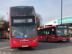 Another long route out of Lewisham and one facing a summer contract change. | Stagecoach London Enviro 400 working the 208 to Orpington, Perry Hall Road. (alexpeak24) Tags: camberwellgreen orpington lewisham 484 enviro200mmc abellio alexanderdennis enviro400 london stagecoach
