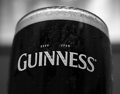 Guinness (Bernie Condon) Tags: guinness glass beer stout black white head alcohol drink studio flash