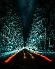 Special Place (simeon_sk) Tags: 2018 bulgaria december europe gabrovo longexposure night nightphotography snow uzana winter