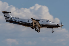 _D508009 (crispiks) Tags: vhfmm abx albury airport plane aircraft nikon d500 70200 f28 pilatus australia pty ltd pc12