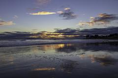 Ventura Sunset (Z. Abbey --- www.zabbeyphotography.com) Tags: canon canon80d canoneos80d eos clouds cloudsstormssunsetssunrises canonflickraward canonphotography california venturacounty ventura beach beachscape ocean venturabeach westcoast pacificocean reflection reflectioninwater reflections beautyofwater mirrorreflection sunset
