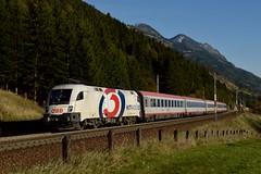 1116 264, IC 591 ( Villach > Salzburg ). Penk (M. Kolenig) Tags: ö3 1116 intercity tauernbahn wald berg hitradio