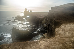 Arnarstapi (Milton CJ) Tags: iceland peninsula park ocean sea sun landscape leica leicam m262 arnarstapi snæfellsnes