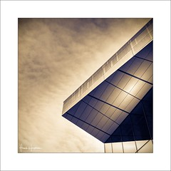 City Tales III (Frank Hoogeboom) Tags: helsinki finland architecture color fineart europe building clouds sky modern light contemporary lines geometric toned art travel opera music