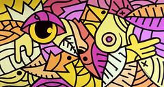 ottograph painting - holla at your boy - acrylic and ink on canvas - 85x155 cm #ottograph 2018 (ottograph / ipainteveryday.com) Tags: ottograph amsterdam paint kmdg graffiti streetartistry streetart popart art kunst canvas painting urbanart handmade gallery freehand urbanwalls design drawing ink illustration wijdesteeg linework graphic murals artist artgallery acrylic museum painter kmdgcrew 500guns street draw colorful sketch color inspiration doodle creative artoftheday artistic artsy photooftheday love instadaily worldofartists likeforlike followforfollow beautiful bestartfeature photography instaartist instanerd instacool