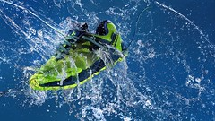 Gore Sneaker with Motion (fdean55) Tags: goretex sneaker splash studio godox water