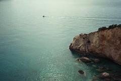 (Just A Stray Cat) Tags: kodak ultramax 400 ultra max lefkada greece beach shore sand rocks ionian sea ocean me mediterranean