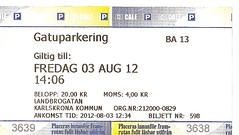 "Parkticket Schweden • <a style=""font-size:0.8em;"" href=""http://www.flickr.com/photos/79906204@N00/44314072850/"" target=""_blank"">View on Flickr</a>"