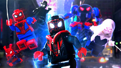 LEGO Spider-Man: Into the Spider-Verse (MGF Customs/Reviews) Tags: lego marvel sony spiderman into spiderverse miles morales peter b parker spidergwen gwen stacy noir spiderham peni shameik moore jake johnson hailee steinfeld nicolas cage john mulaney kimiko glenn minifigure figure phil lord chris miller