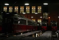Bahnhof Favoriten (Wolfgang Bazer) Tags: bahnhof remise betriebsbahnhof strasenbahnremise favoriten wien vienna österreich austria