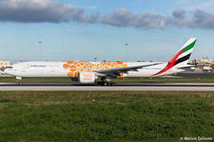 Emirates Boeing 777-31HER  |  A6-ECU  |  LMML (Melvin Debono) Tags: emirates boeing 77731her | a6ecu lmml cn 35593 orange expo 2020 livery melvin debono spotting canon eos 5d mark iv ef 24105mm f4l is ii malta mla airport airplane aviation aircraft air plane planes photography