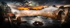 Pontemaceira (Noel F.) Tags: galicia galiza sony a7r a7rii ii fe 24105 g sunrise mencer pontemaceira negreira neboa fog rio tambre panorama exposure blending bracketing pano stitch multiexposure