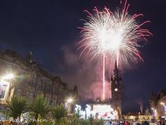 Renfrew fireworks (rjonsen) Tags: firework pyrotechnics renfrew high street night photo long exposure scotland alba tripod renfreshire urban