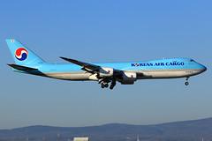 Korean Air Cargo  Boeing 747-8TH(F) HL7609 (widebodies) Tags: frankfurt main fra eddf widebody widebodies plane aircraft flughafen airport flugzeug flugzeugbilder korean air cargo boeing 7478thf hl7609