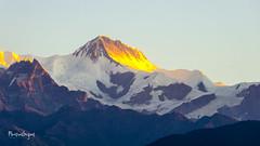 Sunrise (Mamun Srizon) Tags: snowcapped mountain range peak ridge hill extreme terrain glacier mer de glace slope snowy sunrise nepal polhara travel morning