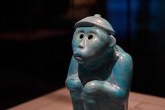 Turquoise-Glazed Monkey (ivoräber) Tags: turquoiseglazed monkeyshaped animal figurine qatar doha museum mia voigtlander voigtländer sony