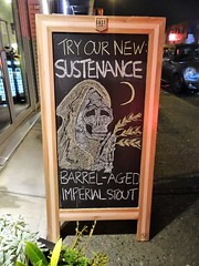 Sustenance (knightbefore_99) Tags: sign cool beer tasting room vancouver eastvan yeastvan sustenance imperial stout cerveza pivo city nice awesome craft best