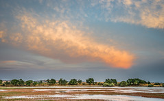 Orange cloud (Ignacio Ferre) Tags: embalsedesantillana embalse santillanareservoir reservoir lago lake nube cloud paisaje landscape naturaleza nature nikon españa spain manzanareselreal madrid