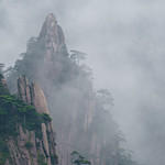 The rocks of the Huangshan national park thumbnail