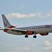 TUI Airlines Netherlands C-FTOH Boeing 737-8HX Split Scimitar Winglets cn/29647-2865 lsd Sunwing Airlines 4/18 - 10/18 @ Buitenverldertbaan EHAM / AMS 14-08-2018