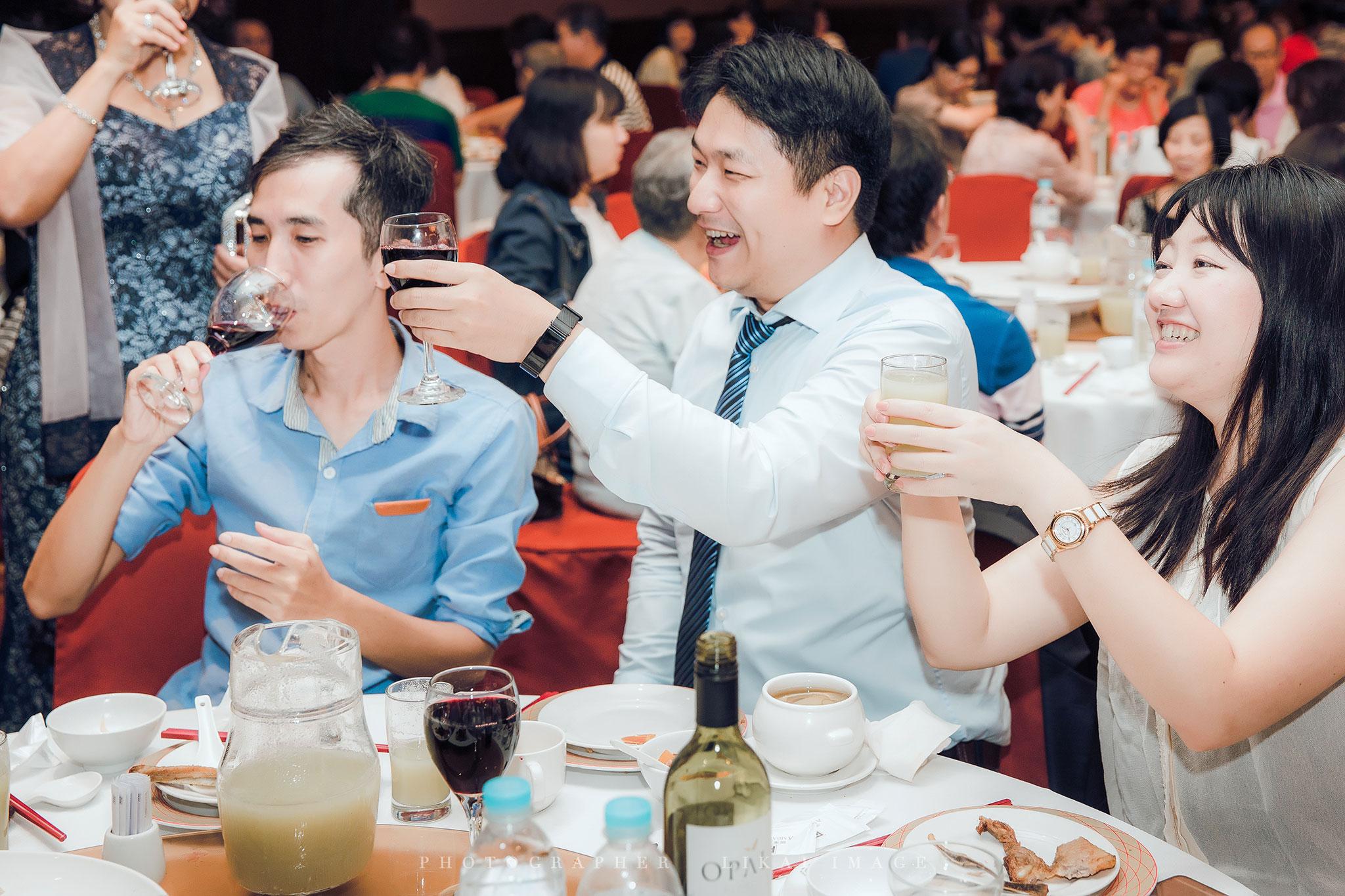 婚禮紀錄 - May & James - 國賓大飯店