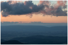 Shenandoah Valley Sunset, October 2018 (adamwilliams4405) Tags: sunset sunsets sky shena mountain mountains landscapes virginia visitvirginia va vista overlook loveva outside tones colors canon outdoors fall clouds nature