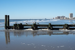 Atlantic City Gulls and Surf (Golfer Chris) Tags: nikon nikond750 nikkor atlanticcity jersey jerseyshore