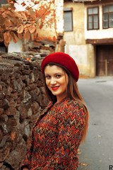 VERONIKA 🍁 autumn 2018 (5) (Robert Krstevski) Tags: robertkrstevski people peoplephotography woman girl girls portrait portraits autumn fall fall2018 autumn2018 face hat eyes red cute beautiful beauty fashion clothes fashionmodel flicker popular photography photooftheday photograph photo photographer photoshoot model macedonia balkan europe architecture